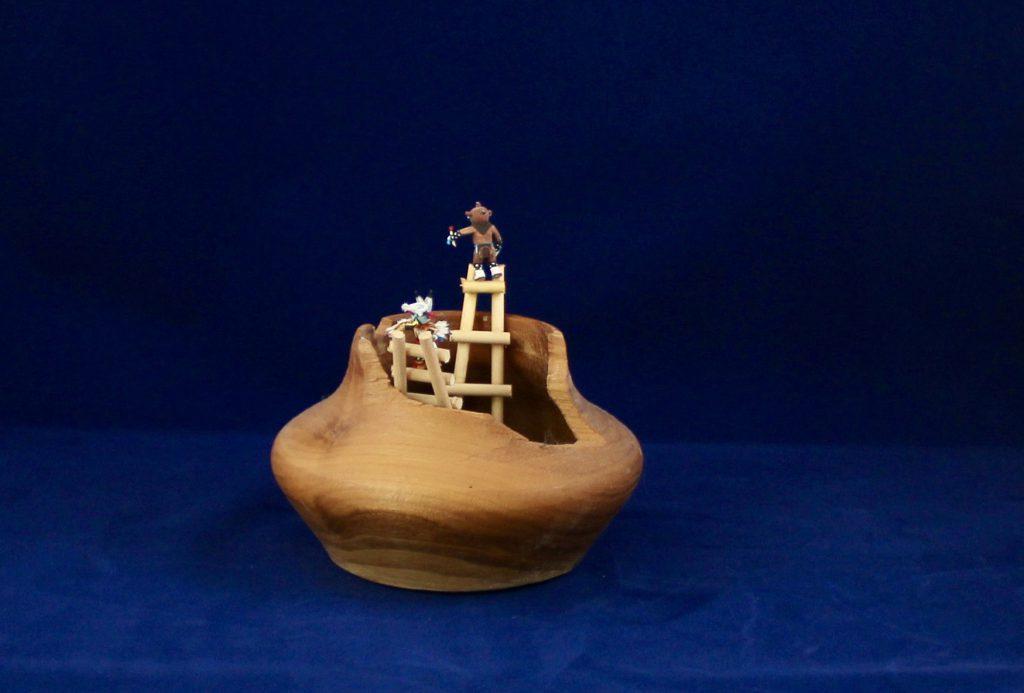 Kiva Bowls with Kachina