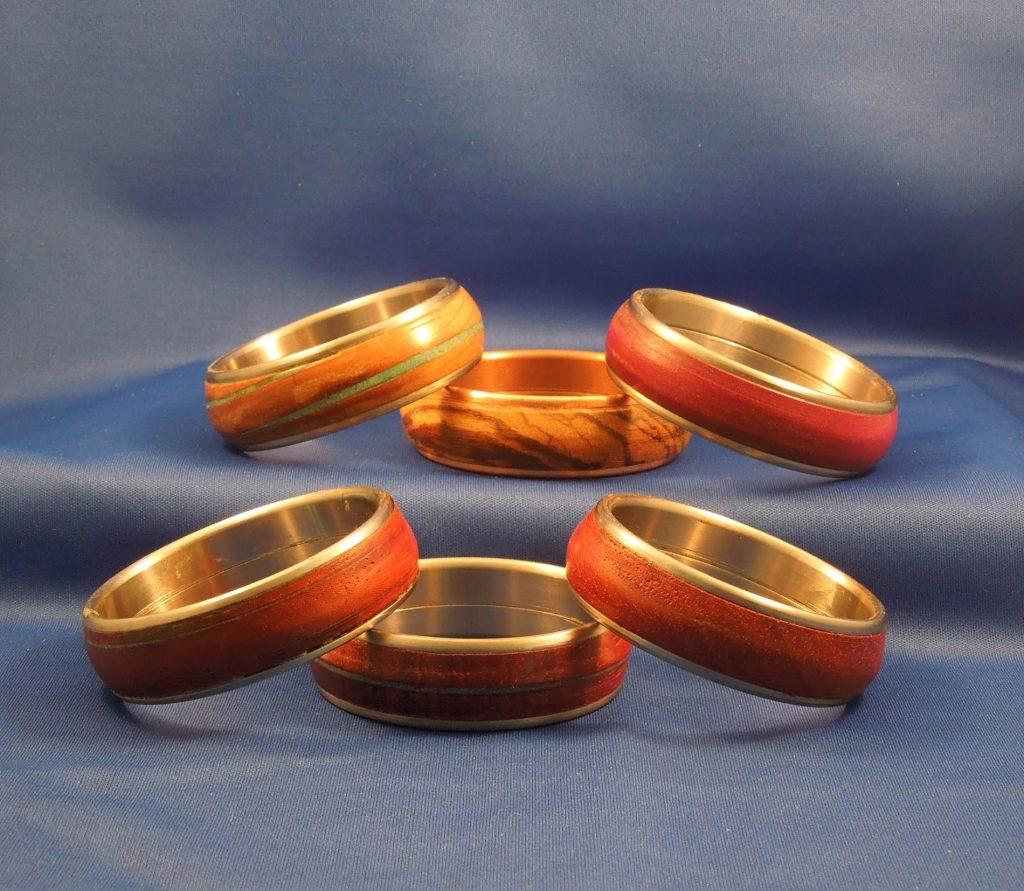 Wood Bangles Bracelets 8