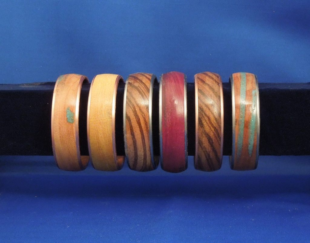 Wood Bangles Bracelets
