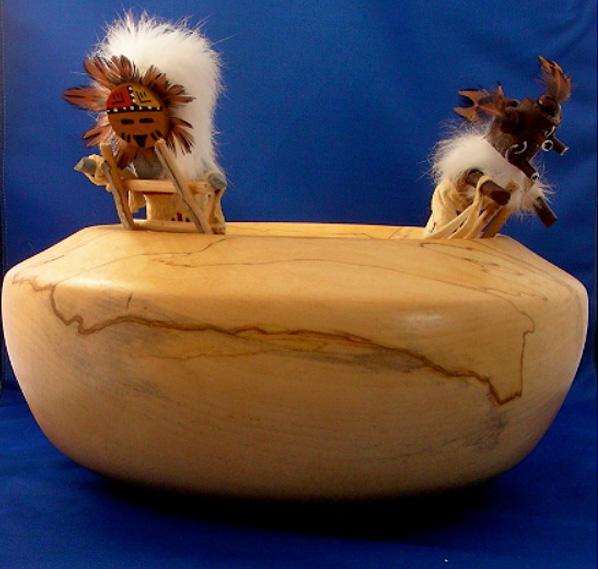 Kiva Bowls with Kachina 2