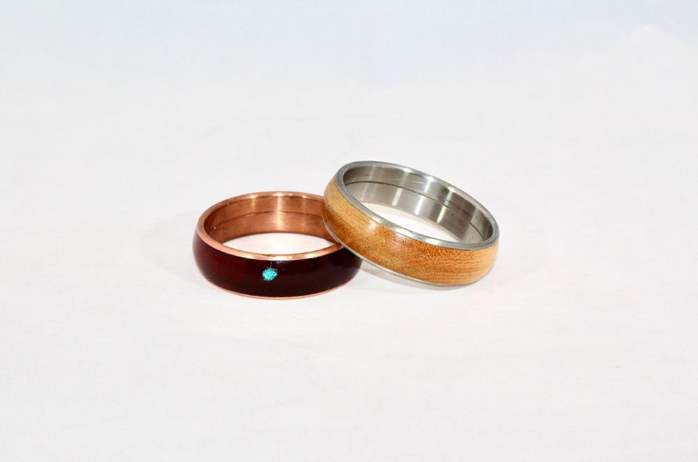 Wood Bangles Bracelets 1